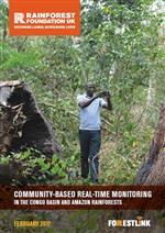Community-based real-time monitoring in the Congo Basin and Amazon rainforests